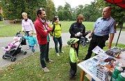 V pátek odstartoval Evropský týden mobility na Střeleckém ostrově soutěžemi pro děti.