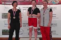 NEJLEPŠÍ. Lovosičtí kickboxeři se v Mostě postavili dvakrát na nejvyšší stupínek.