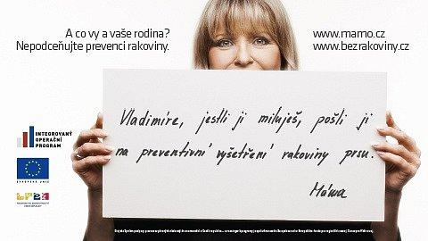 Prevence rakoviny tlustého střeva a konečníku, prsu a děložního čípku je hlavním tématem informační kampaně zaměřené na širokou veřejnost, jejímž nositelem je Ministerstvo zdravotnictví ČR.