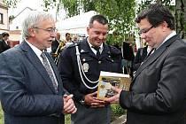 Novou knihu a pamětní desku představili v Třebenicích.