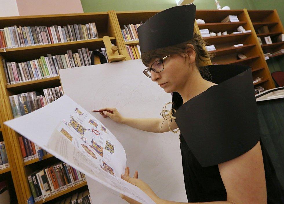 Muzejní noc připravila Knihovna Karla Hynka Máchy v Litoměřicích v roce 2015 na téma Jan Hus