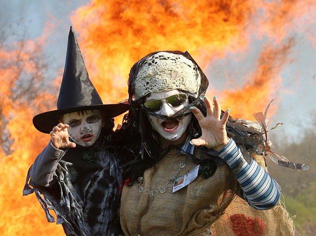 Čarodějnice v Chodovlicích na Třebenicku