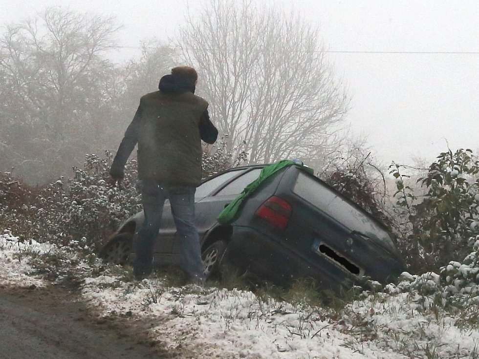 Nehoda na Litoměřicku, ilustrační foto.