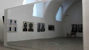 Mezi neobvyklé exponáty výstavy roudnické galerie Koncepty zrcadlení patří i velkoformátové vibrující foliové zrcadlo autorky Magdaleny Jetelové.