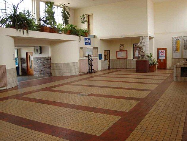 Vestibul nádraží Litoměřice - město