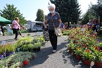 Největší zahradnický veletrh na severu Čech otevřel své brány v pátek 10. září.