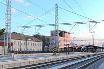 Vizualizace podoby roudnického nádraží po rekonstrukci.