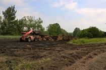 Zemědělec ukládal upravené kaly v rozporu s programem jejich použití.