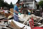 Povodně na Litoměřicku v červnu 2013, Mlékojedy