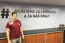 Házenkář Lovosic Uvis Strazdinš