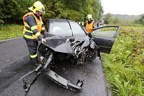Nehoda u obce Tlučeň