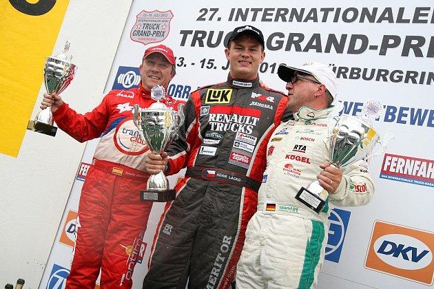 Adam Lacko vyhrál hlavní závod na Nürburgringu