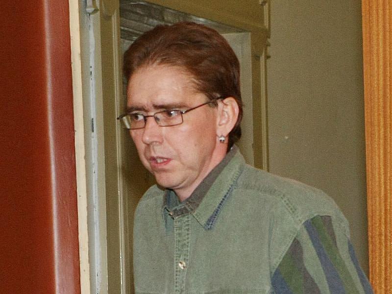 MARTIN TRŇAN u litoměřického soudu.
