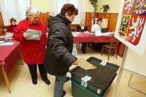 Opakované volby v Roudnici nad Labem - Bezděkově.