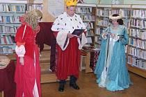 Knihovna v Roudnici nad Labem vítá ve svém dětském oddělení další malé čtenáře.