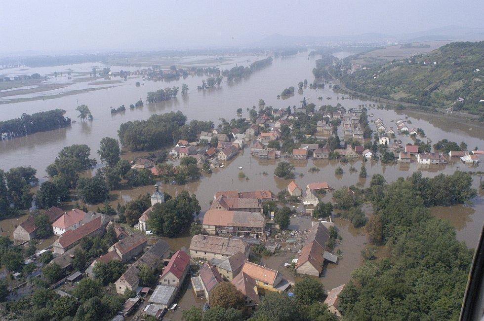 Povodně 2002. Křešice
