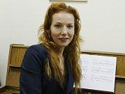 Operní pěvkyně Jana Štěrbová.