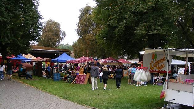 Tradiční jarmark ve Štětí.