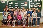 Prvňáčci ze Základní školy v Bohušovicích nad Ohří.