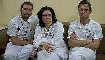 LÉKAŘI litoměřické nemocnice, kteří přistoupili na rozhovor s redaktorkou Deníku.