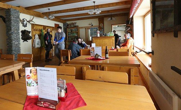 Restaurace na Milešovce