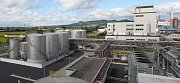 Otevření nové výroby v babišově Preolu