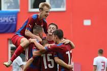 Fotbalový zápas Česká republika a Maďarsko, U18