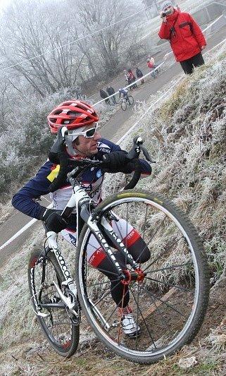 Silvestrovský cyklokros v Terezíně
