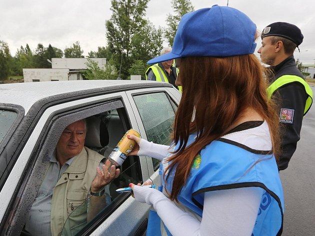 Policejní kontroly u Litoměřic