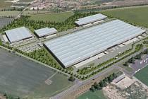 ZAMÝŠLENÝ logistický park by měl vyrůst na východním okraji Lovosic poblíž Lukavce. Celkem by tam měly vzniknout čtyři haly.