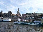 Při plavbě na Labi viděla posádka Sunriveru mnoho kulturních i technických památek.