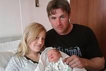 Jitce Rulfové ze Solan a Radku Vurmovi ze Sedlece se v litoměřické porodnici 22. dubna v 16.40 hodin narodil syn Michal Vurm. Měřil 51 cm a vážil 3,65 kg. Blahopřejeme!