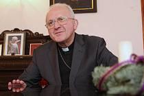 Litoměřický biskup Mons. Jan Baxant.
