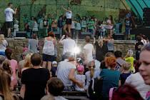 Rodinný festival Špunt v Lovosicích.