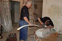 Obřadní síň na litoměřické radnici by měla připravena po rekonstrukci na oddávání párů už začátkem června.