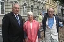 Vojtěch Válek se sešel s Annou-Marií Mandon a Christianem Dally.