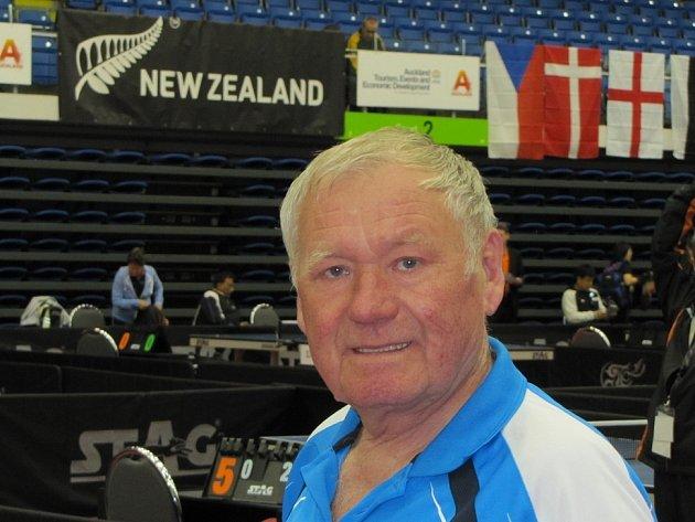STOLNÍ tenista Ivan Maleček na šampionátu.