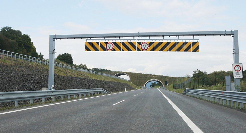 Kompletní otevření dálnice D8.