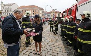 Dobrovolní hasiči v Roudnici mají nové auto