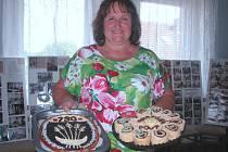 Pořadatelé nezapomněli ani letos vyhlásit k pouťovým oslavám soutěž o nejlepší chodounský koláč.