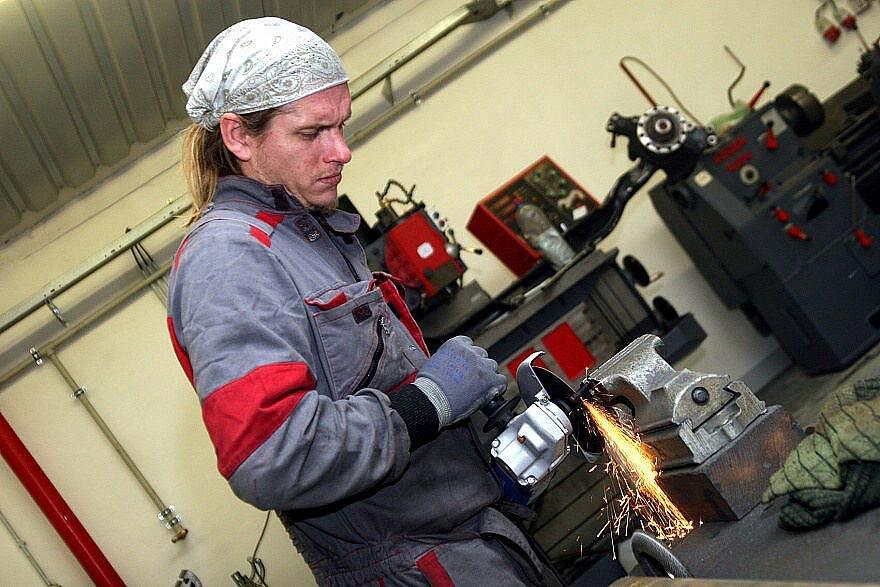 Mechanik Michal Procházka