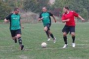 Utkání Milešova (v zeleném) proti Libotenicím