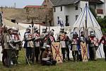 Středověká bitva na Vodním hradu v Budyni nad Ohří, 2019