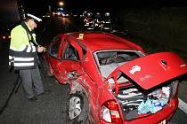 Pondělní nehoda mezi Lovosice a Ústím