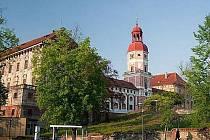 Zámek a hrad Roudnice nad Labem.