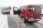 Dopravní nehoda u Mlékojed