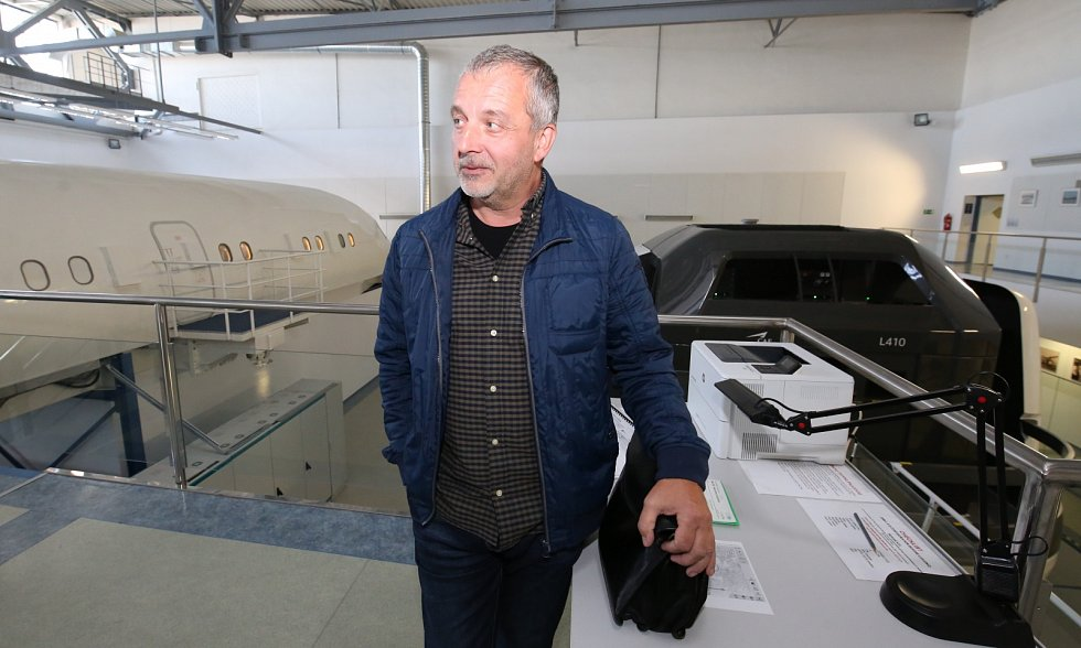 Dopravní pilot a instruktor Petr Pačes