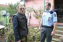 Policejní kontroly na Štětsku.