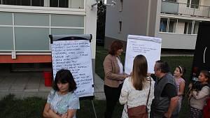 Diskuze o sídlišti Střed v Litoměřicích