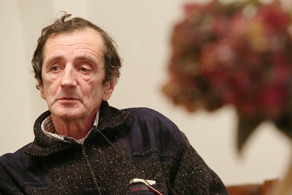 Jan Štíbr, ředitel Severočeské galerie výtvarného umění v Litoměřicích
